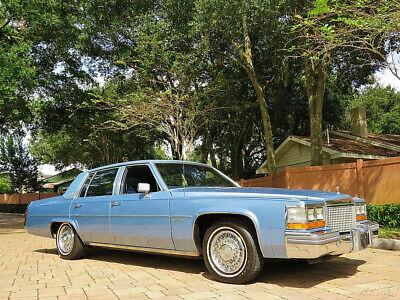 Simply Amazing 25ks original Garage Kept 1981 Cadillac sedan Deville 6L 368 V8