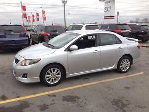 2009 Toyota Corolla S, Sport Looking, Loaded; Roof, Pw, Pl and M London Ontario image 2