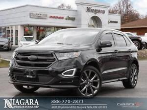 2017 Ford Edge SPORT AWD | PANORAMIC | LEATHER | TRIPLE BLACK!