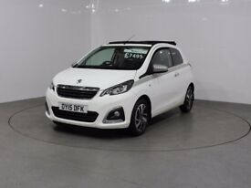 PEUGEOT 108 ALLURE TOP (white) 2015