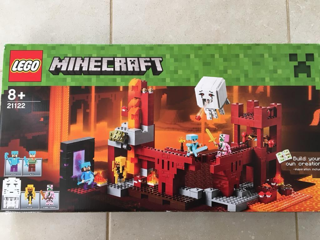 Minecraft Lego The Nether Fortress (21122) | in Bury, Manchester | Gumtree