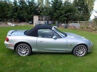 Mazda MX5 Angels 1.8cc, low miles. Lovely car. PRICED TO SELL