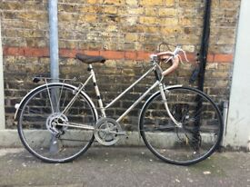 Vintage Racing Raleigh Bicycle