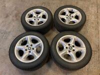 """Jaguar XK8 Alloy Wheels 17"""" 17 Inch Alloys XKR XJ8 XJ6"""