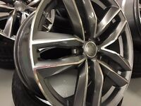 """19"""" AUDI STYLED ALLOYS A1 A2 A3 A4 A5 A6 A7 A8 S1 S2 S3 S4 S5 S6 S7 S8 RS3 RS4 RS5 RS6 RS7 S LINE"""