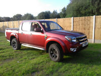 2010 Ford Ranger Double Cab, 2.5 TDCI, Thunder NO VAT