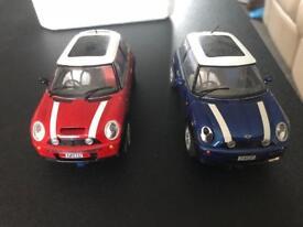 Scalextric mini coopers