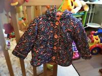 Selection of baby girls coats