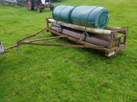 10ft tractor land field paddock roller