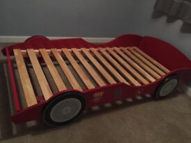 Single Racing Car Bed Frame