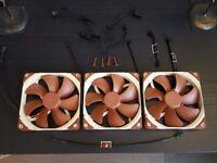 Noctua NF-A14 FLX Premium Quality 140MM case fans x 3