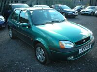 2001 FORD FIESTA 1.2 PETROL 5 DR - LOW MILES - 1 PREVIOUS OWNER!!