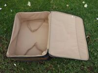 Old fashion leather suitcase / trunk