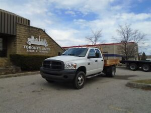 2009 Dodge 3500HD Crew Cab,Hemi power,Automatic,Pintle hitch.