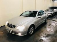 Mercedes clk 240 avantgarde 2.6 automatic in excellent condition long mot till October 18 top spec