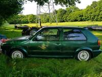 Vw golf vr6 project