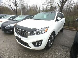 2016 Kia Sorento 3.3L SX 7-Seater, Navi. Panoramic Sunroof