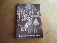 Gresham Voices & Faces Book by Keith Entwistle