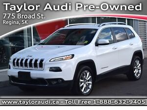 2016 Jeep Cherokee Limited, NAVIGATION, LTR, REAR CAM, REMOTE ST