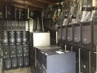 100 DELL Complete PCs (Units, Monitors, Mouses & Cables) for only £2450 or £35-£40 each.