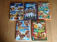 DVD's Disney Air Buddies, Santa Buddies, Snow Buddies, Space Buddies, Spooky Buddies As New £1 Each