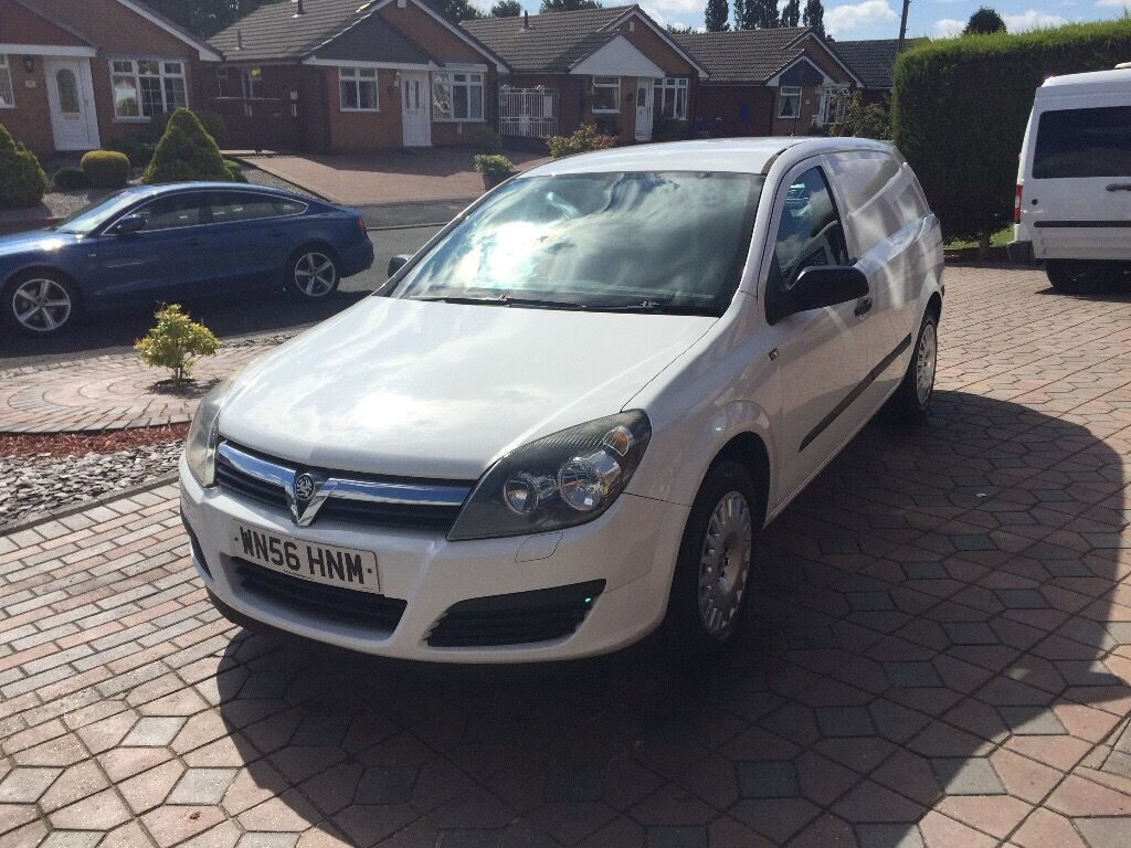 2006 VAUXHALL ASTRA VAN 1.7 DIESEL MANUAL WHITE 134,000 BOXED OUT