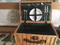 Lovely little picnic basket