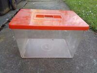 Plastic Fish Tank - Collection Stockport