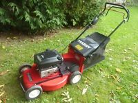 Harry commercial quality self propelled mower, 20' cut, alloy deck, expensive new