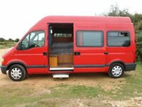 Renault master campervan for spares/repair
