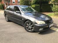 2003 Lexus IS200 Sportcross estate 1 owner FSH £1695