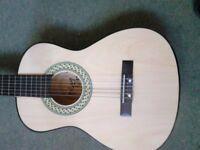 Acoustic guitar half size