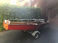 Miracle sailing dinghy
