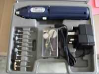RECHARGEABLE ROTARY TOOL SET (Brand New & Boxed)