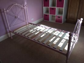 Girls pink (princess style) bed