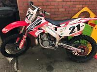 Honda cr 250 2stroke 1997