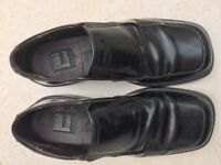 Men's size 43 black formal shoes