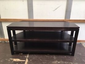 WOODEN TV STAND FOR WALL OR CORNER