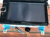 Kenwood DDX 4025BT double din DVD CD Bluetooth hands free
