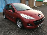 2010 Peugeot 207 1.4 , mot - July 2018 , only 22,000 miles , 2 owners ,fiesta,corsa,clio,punto,polo