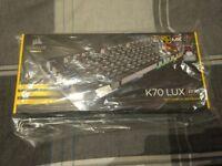 Corsair K70 RGB Cherry MX red, brand new in box!