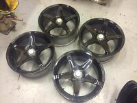 "16"" alloy wheels, ford fittment. 4x108"