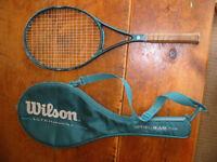 wilson ultra graphite tennis raquet.