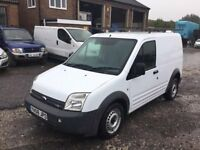 2008 ford transit connect 1.8 tdci swb 1 owner low miles 80,000