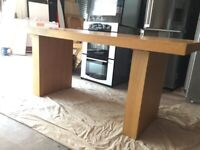 Large dining table 180cm long
