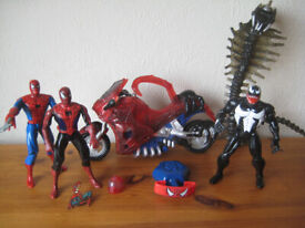 Spiderman toys collection