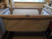 """Chicco - next to me"" - baby crib, in very good condition"