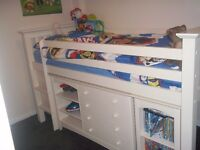 Julian Bowen Cameo Sleep station - Childrens / Kids Cabin / captains bed