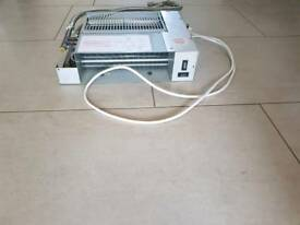 Myson Fan convector plinth heater