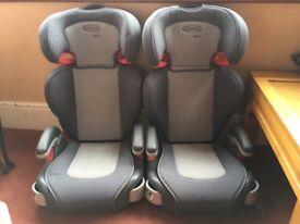 Graco junior car seats.